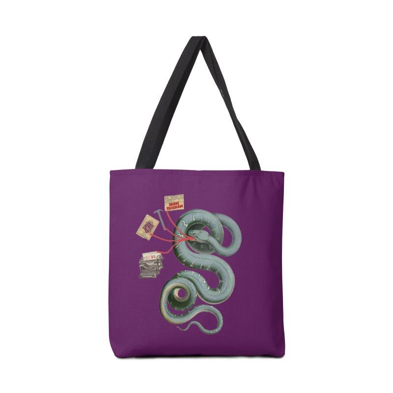 Snake Telegram Accessories Bag by Time Machine Supplies