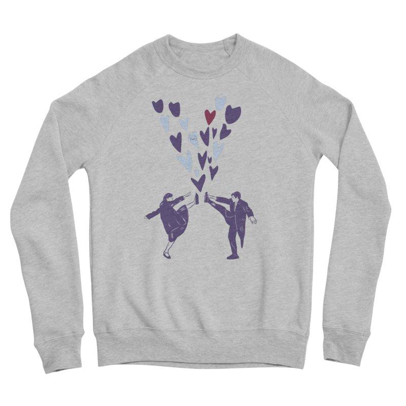 Kicks Men's Sponge Fleece Sweatshirt by Time Machine Supplies