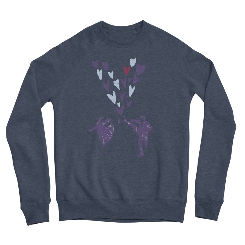 Kicks Women's Sponge Fleece Sweatshirt by Time Machine Supplies