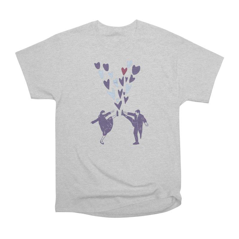 Kicks Women's Heavyweight Unisex T-Shirt by Time Machine Supplies
