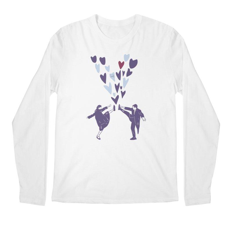 Kicks Men's Regular Longsleeve T-Shirt by Time Machine Supplies