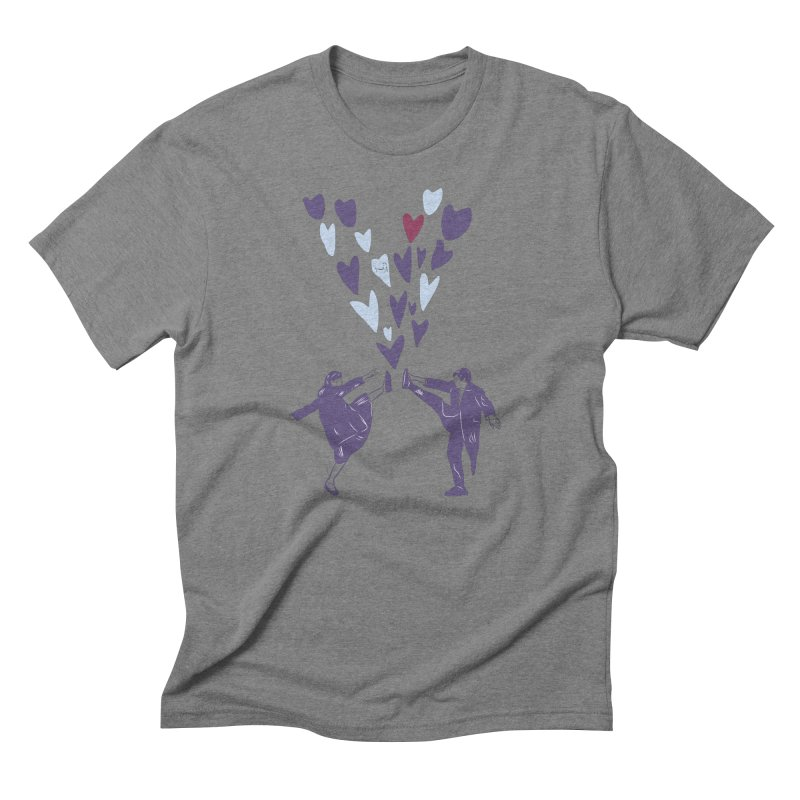 Kicks Men's Triblend T-Shirt by Time Machine Supplies