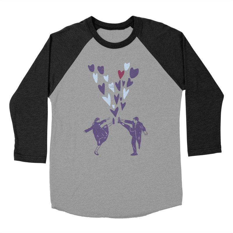 Kicks Men's Baseball Triblend Longsleeve T-Shirt by Time Machine Supplies