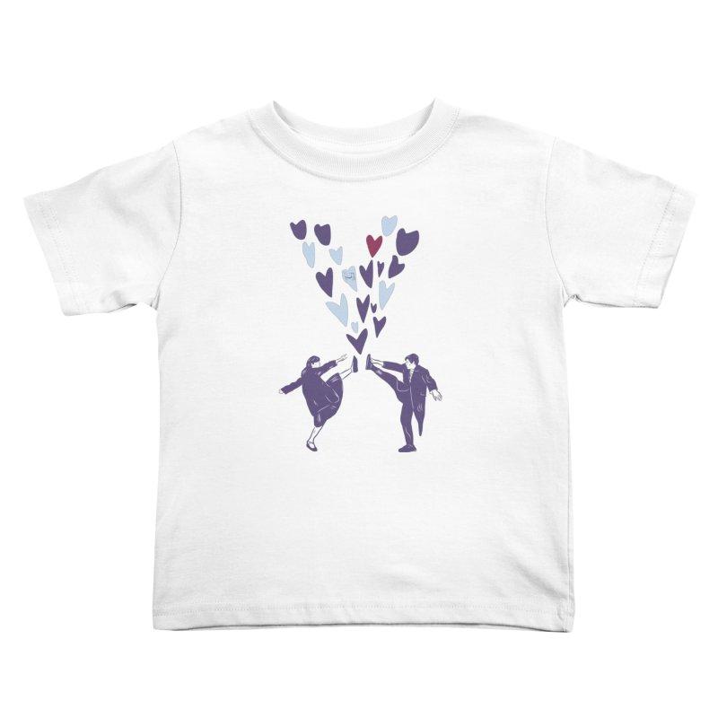 Kicks Kids Toddler T-Shirt by Time Machine Supplies