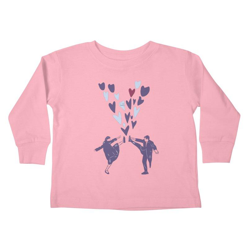 Kicks Kids Toddler Longsleeve T-Shirt by Time Machine Supplies