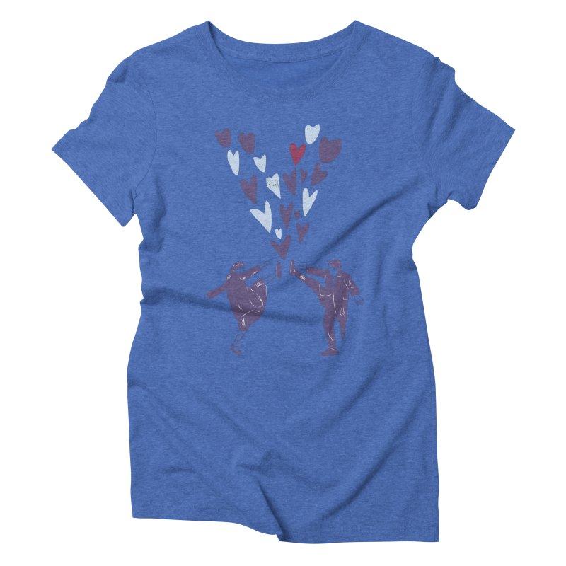 Kicks Women's Triblend T-Shirt by Time Machine Supplies