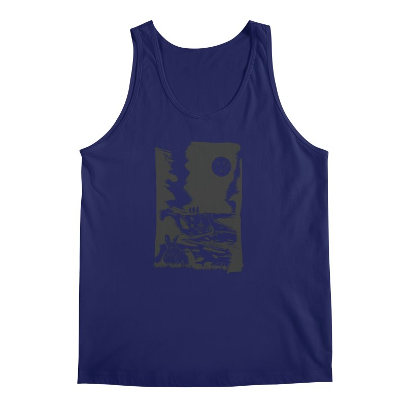 The Moon and the Rabbit Men's Regular Tank by Time Machine Supplies