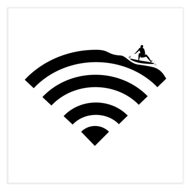 Surfin´ the Wifi   by Tim´s Artist Shop