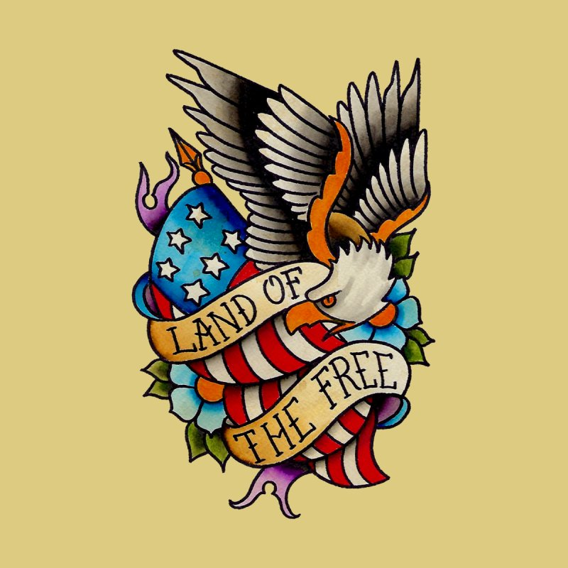 Land of the Free by timpangburn's Artist Shop