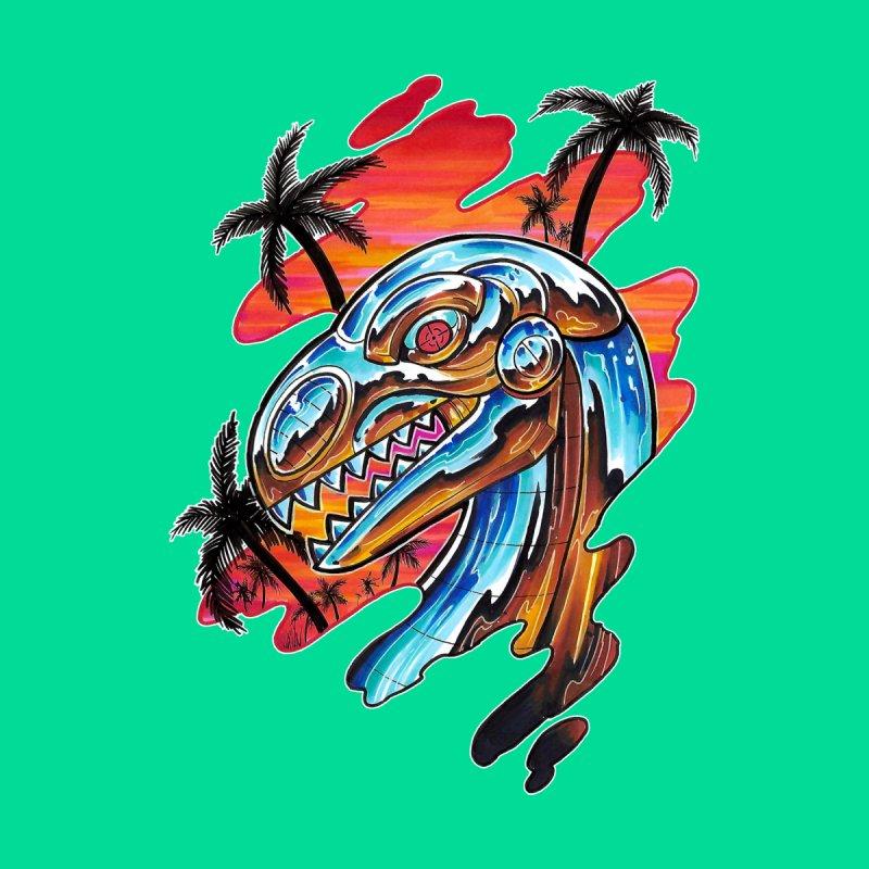 Chrome Dino by timpangburn's Artist Shop