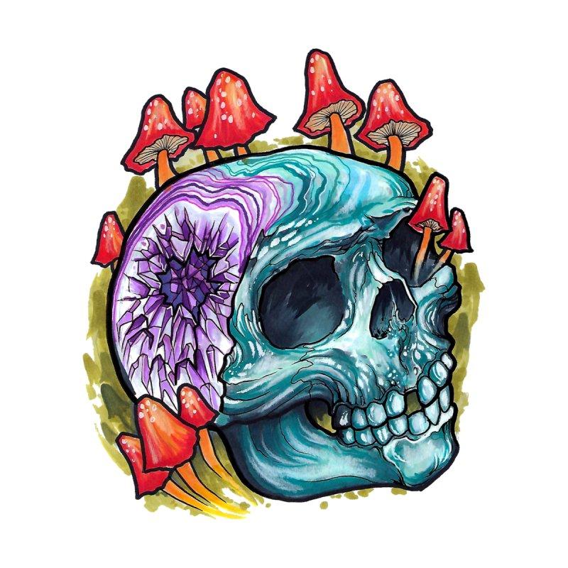 Geode Skull by timpangburn's Artist Shop