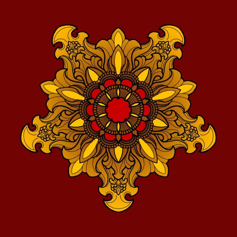 Tibetan Filigree V4 by timpangburn's Artist Shop