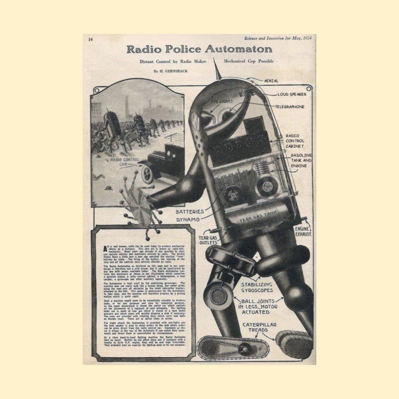 Robot Cop by timpangburn's Artist Shop