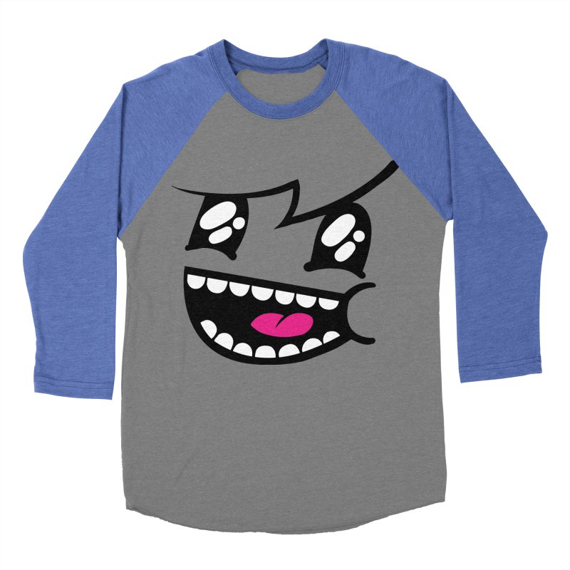 Don't worry be hairy Women's Baseball Triblend T-Shirt by timrobot's Artist Shop