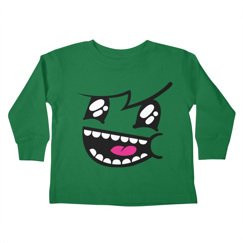 Don't worry be hairy Kids Toddler Longsleeve T-Shirt by timrobot's Artist Shop