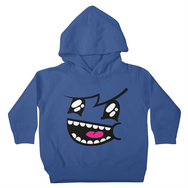 Don't worry be hairy Kids Toddler Pullover Hoody by timrobot's Artist Shop