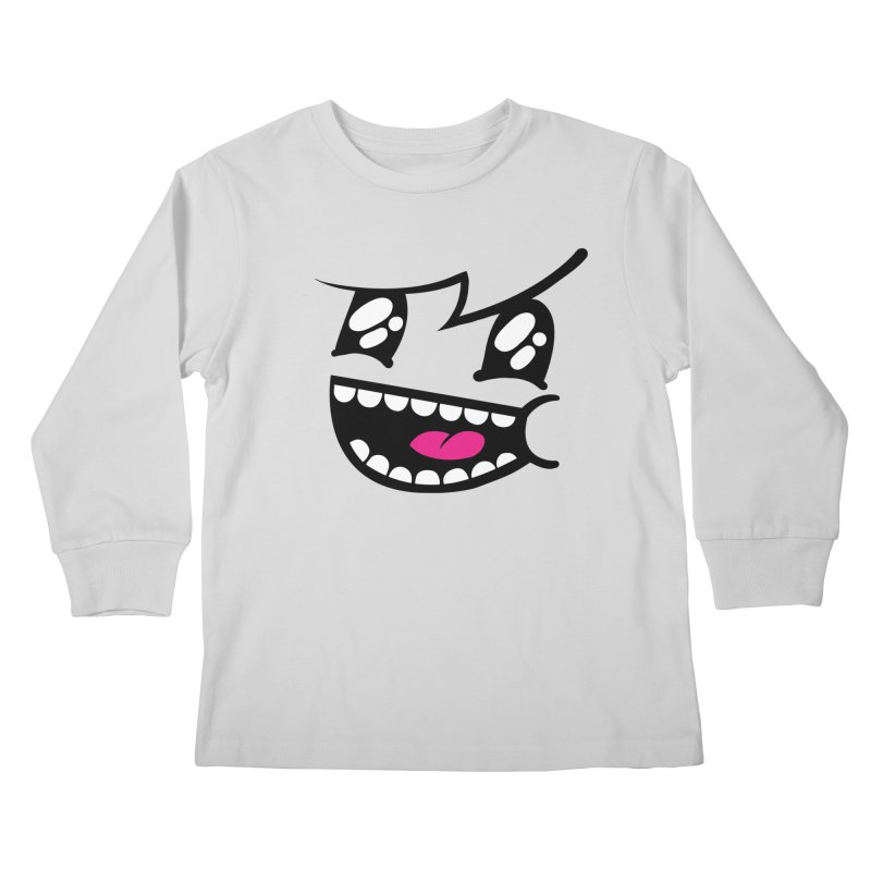 Don't worry be hairy Kids Longsleeve T-Shirt by timrobot's Artist Shop