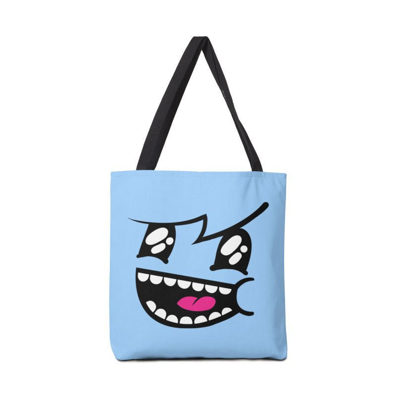 Don't worry be hairy Accessories Bag by timrobot's Artist Shop
