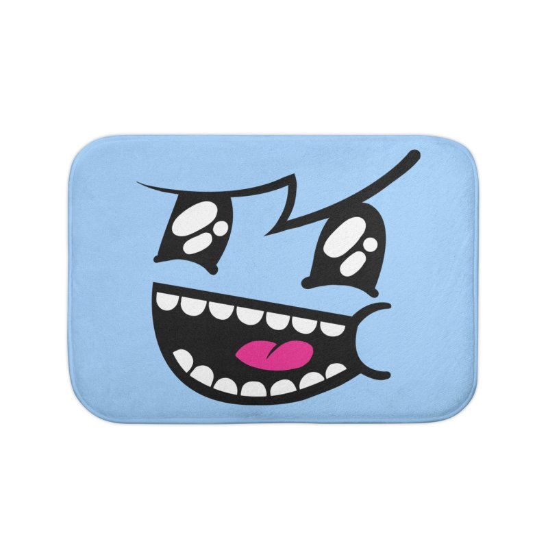 Don't worry be hairy Home Bath Mat by timrobot's Artist Shop
