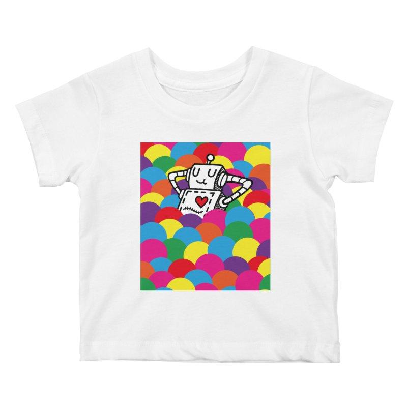 The Ballpit Kids Baby T-Shirt by timrobot's Artist Shop