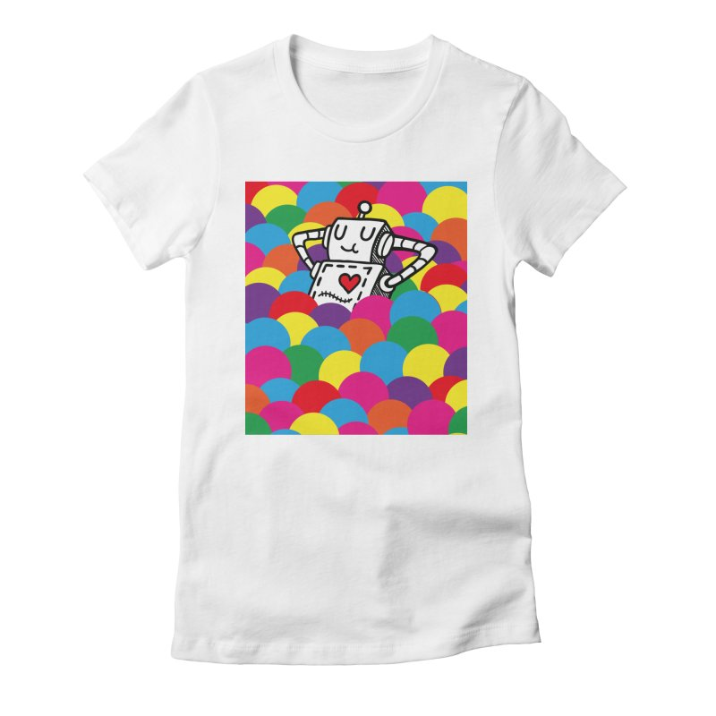 The Ballpit Women's Fitted T-Shirt by timrobot's Artist Shop