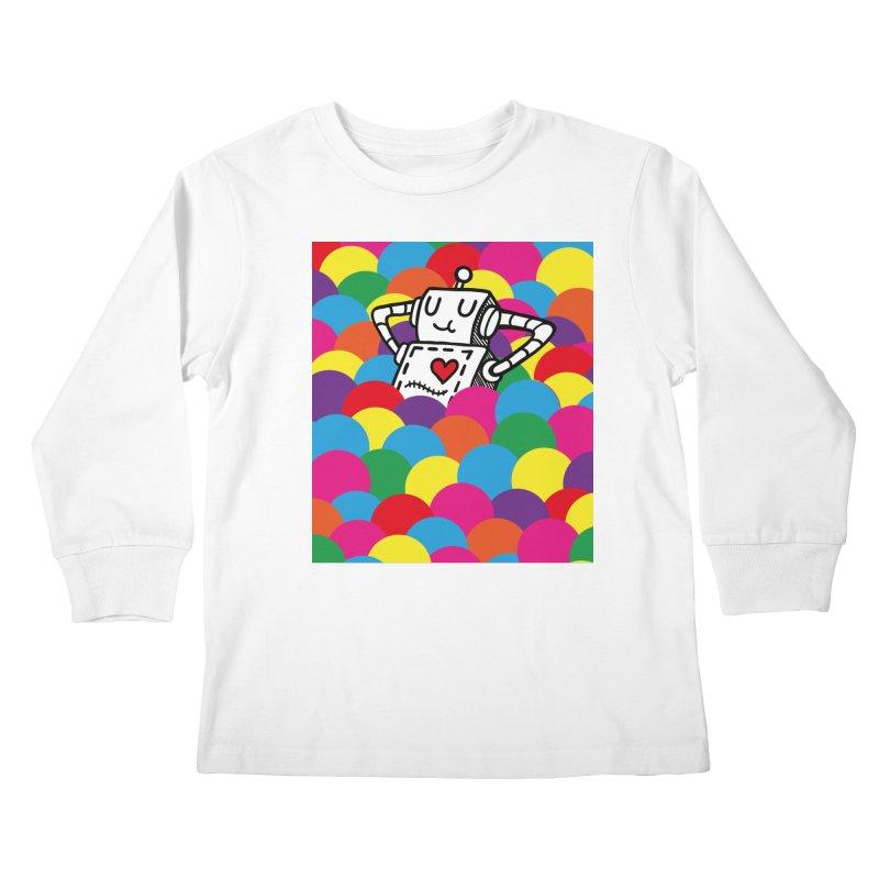 The Ballpit Kids Longsleeve T-Shirt by timrobot's Artist Shop