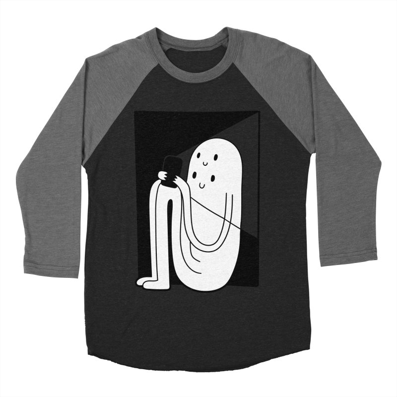 Phony Men's Baseball Triblend T-Shirt by timrobot's Artist Shop