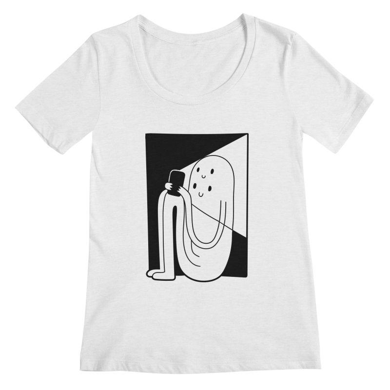 Phony Women's Scoopneck by timrobot's Artist Shop