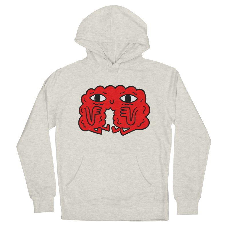 Brain Vs Heart Men's Pullover Hoody by timrobot's Artist Shop