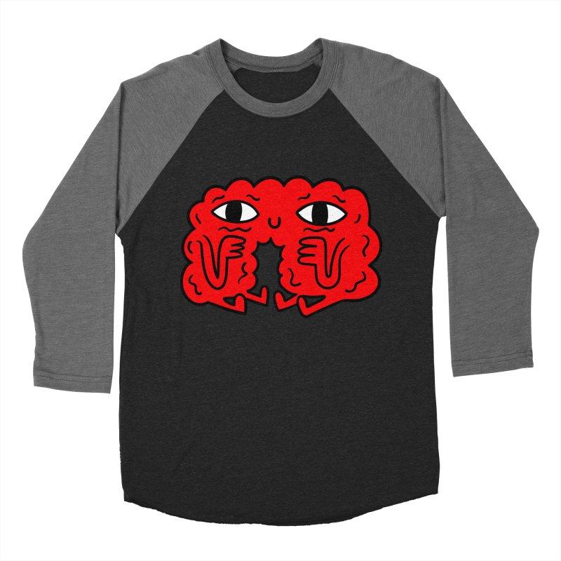 Brain Vs Heart Women's Baseball Triblend T-Shirt by timrobot's Artist Shop