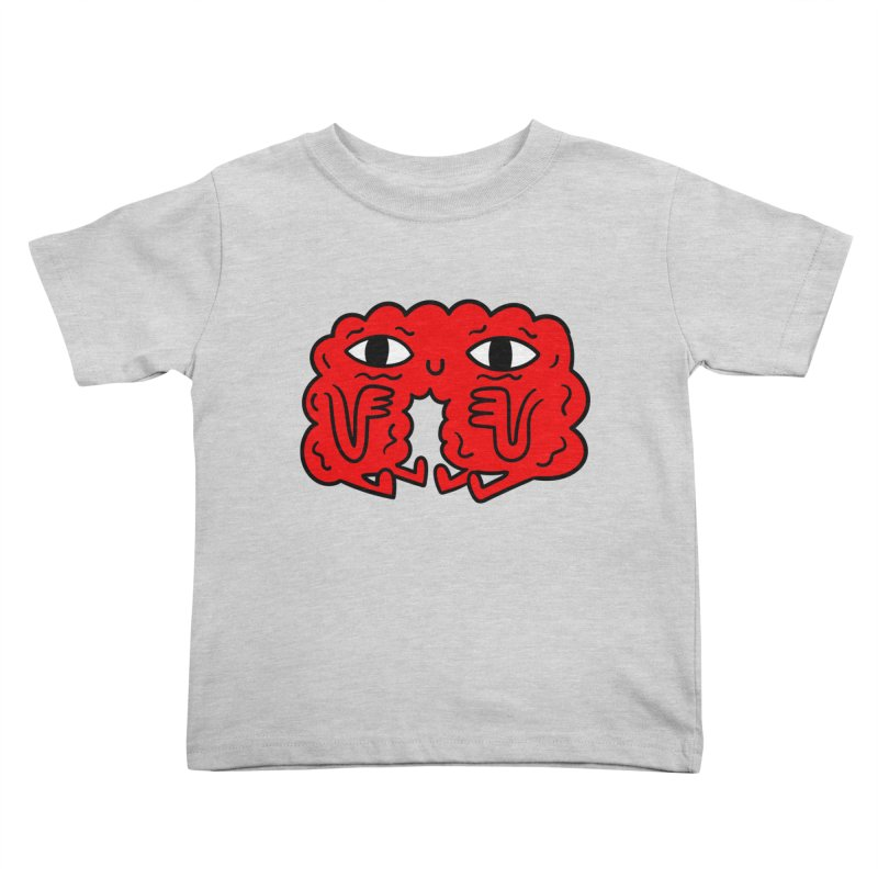 Brain Vs Heart Kids Toddler T-Shirt by timrobot's Artist Shop