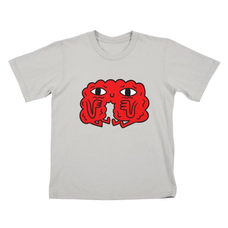 Brain Vs Heart Kids T-shirt by timrobot's Artist Shop