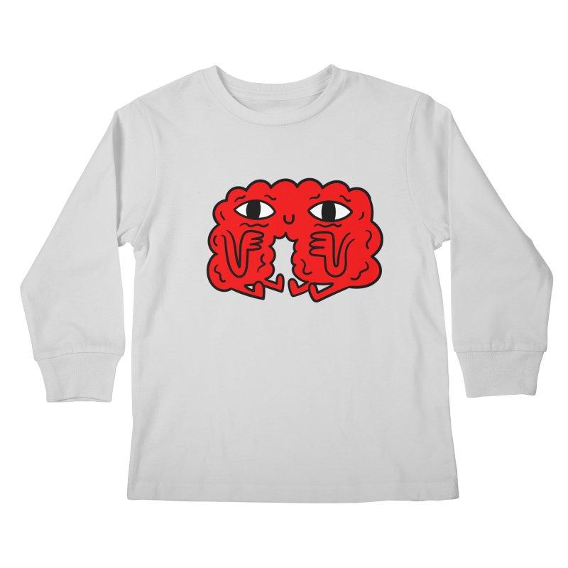 Brain Vs Heart Kids Longsleeve T-Shirt by timrobot's Artist Shop