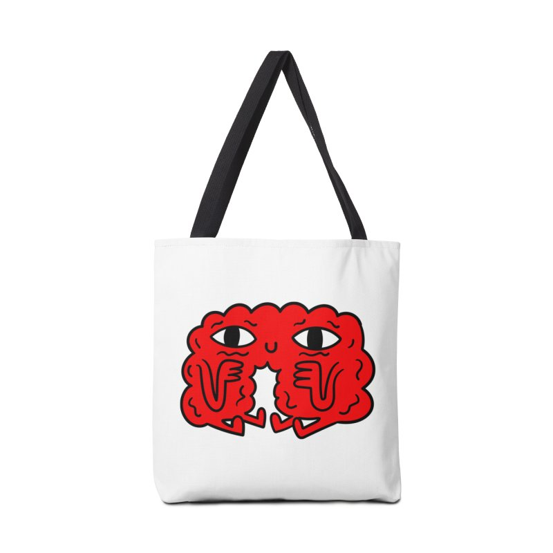 Brain Vs Heart Accessories Bag by timrobot's Artist Shop