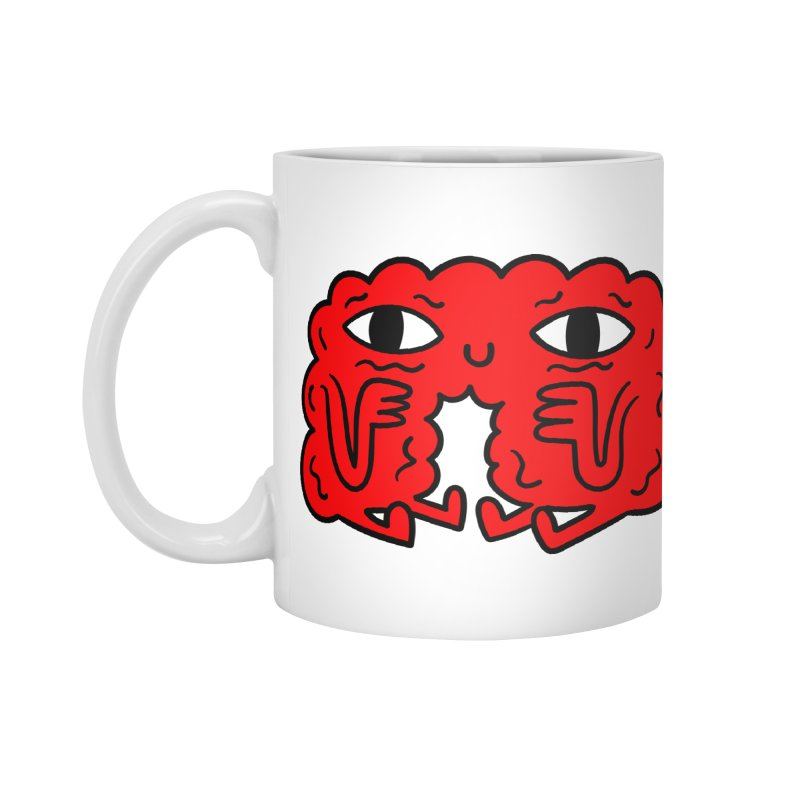 Brain Vs Heart Accessories Mug by timrobot's Artist Shop