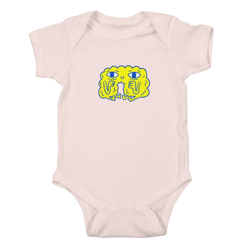 Bored By Red Kids Baby Bodysuit by timrobot's Artist Shop