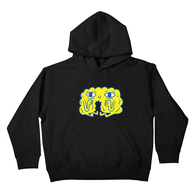 Bored By Red Kids Pullover Hoody by timrobot's Artist Shop
