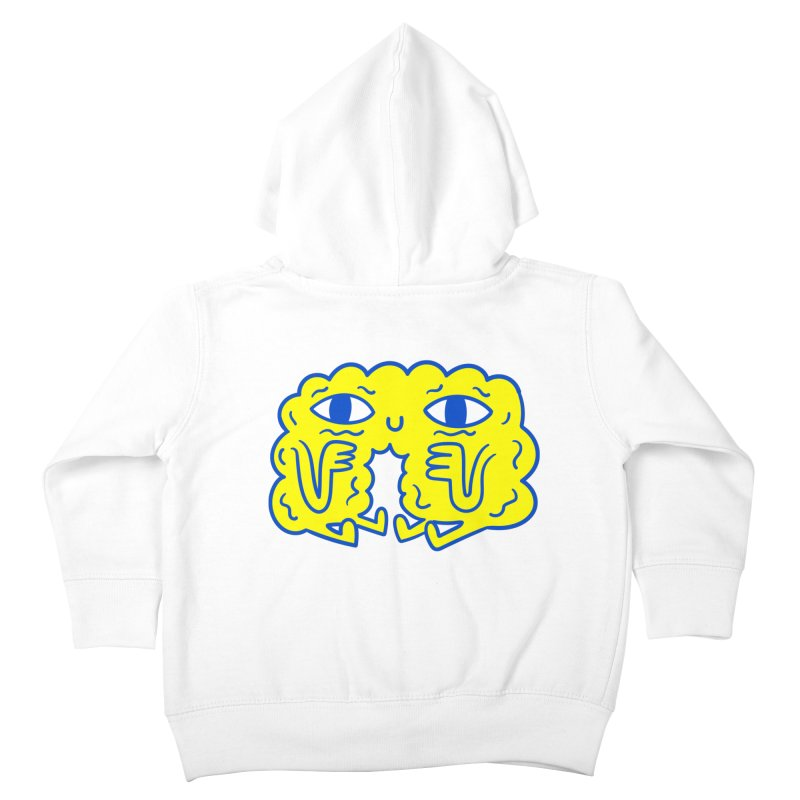Bored By Red Kids Toddler Zip-Up Hoody by timrobot's Artist Shop