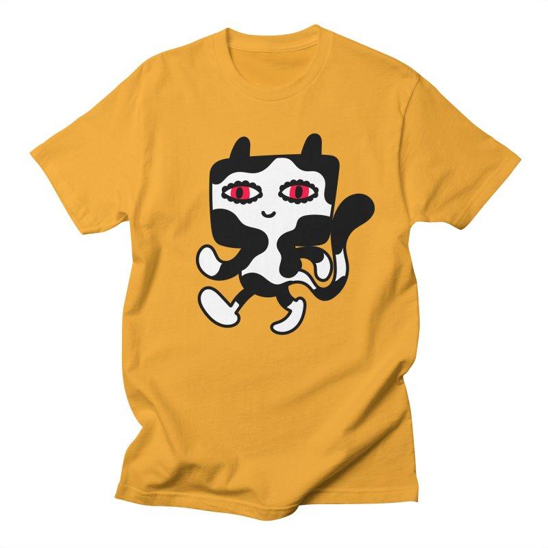 Catwalker Men's T-shirt by timrobot's Artist Shop