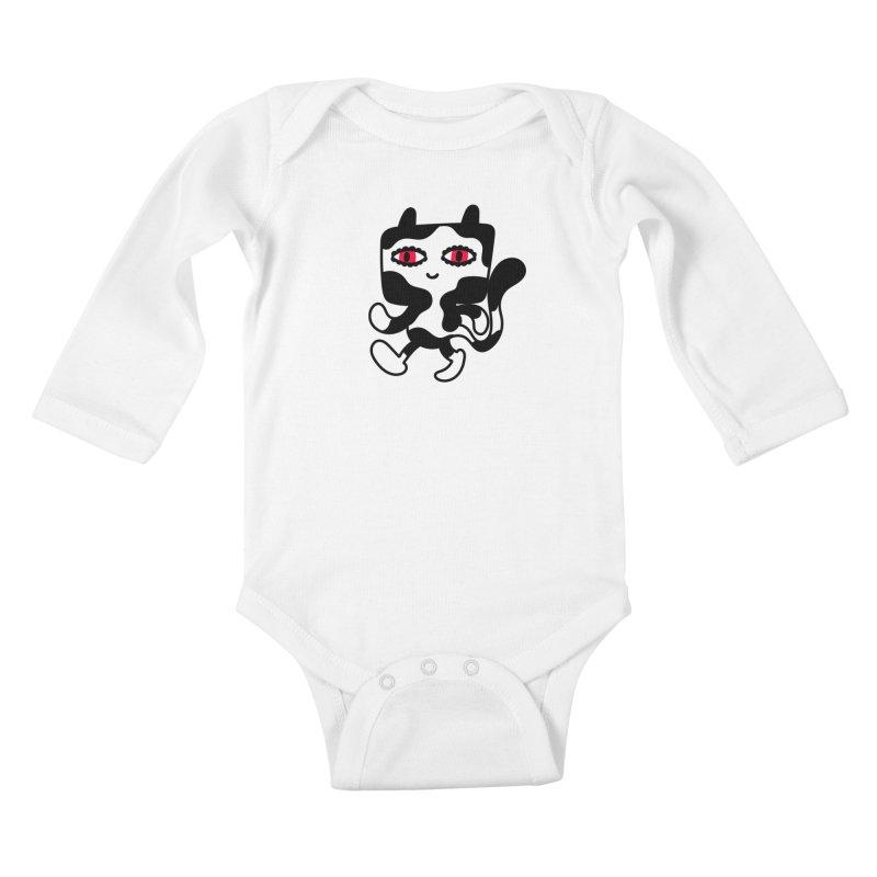 Catwalker Kids Baby Longsleeve Bodysuit by timrobot's Artist Shop