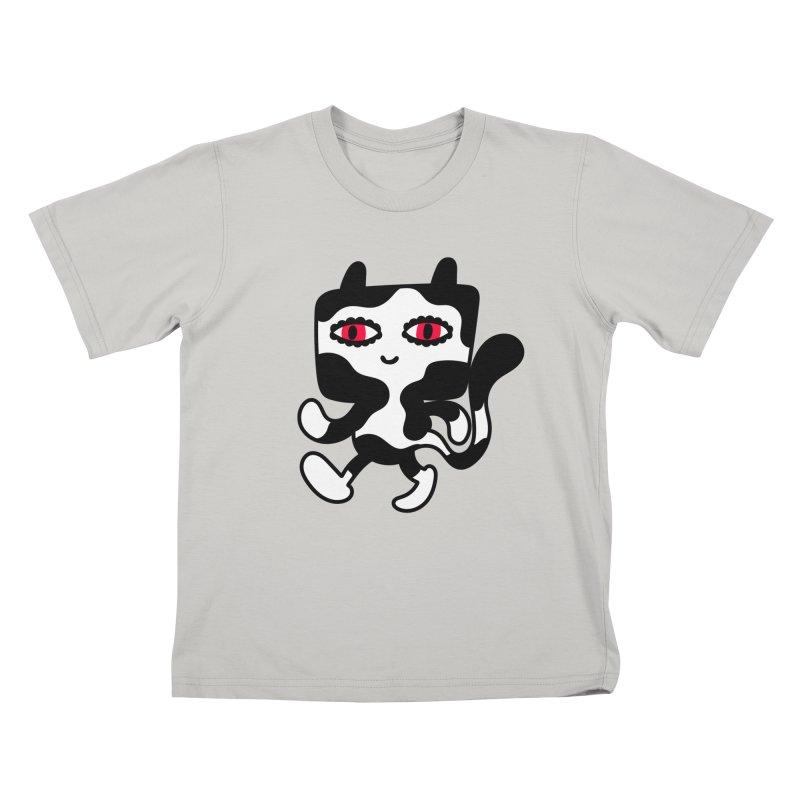 Catwalker Kids T-shirt by timrobot's Artist Shop