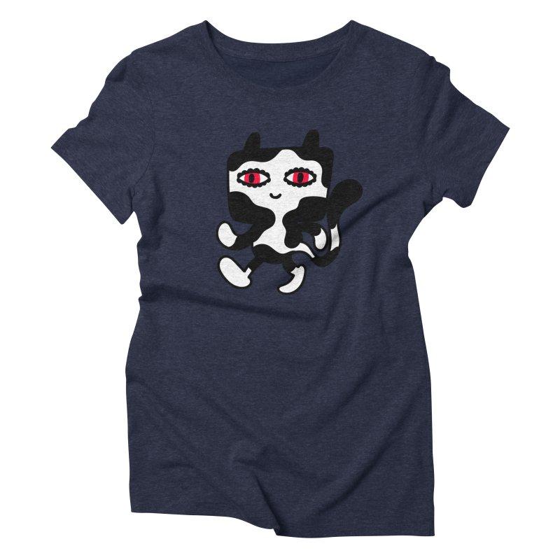 Catwalker Women's Triblend T-Shirt by timrobot's Artist Shop