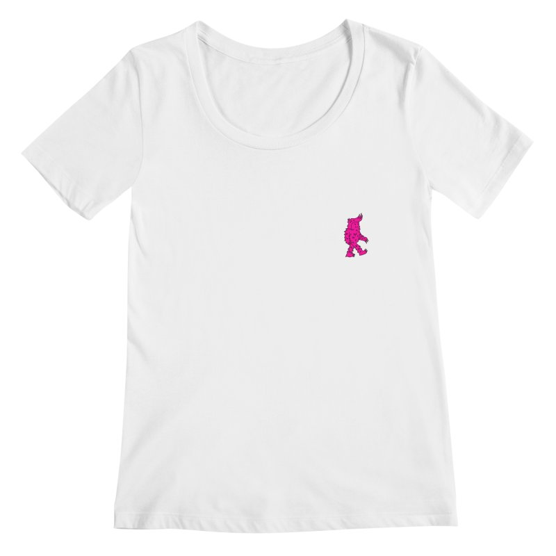 Are we there Yeti? Women's Scoopneck by timrobot's Artist Shop