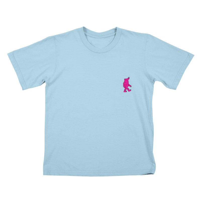 Are we there Yeti? Kids T-shirt by timrobot's Artist Shop