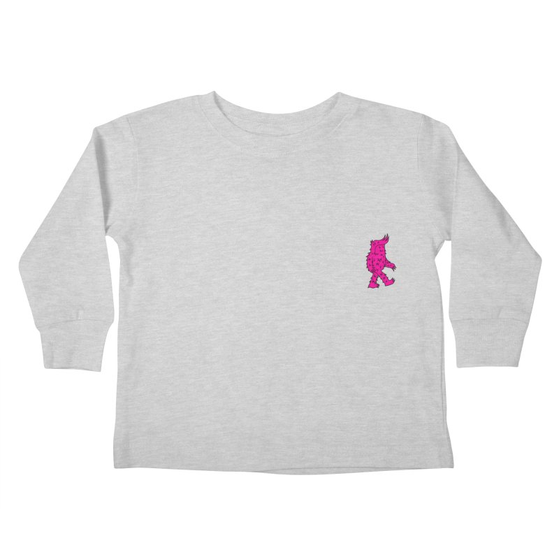 Are we there Yeti? Kids Toddler Longsleeve T-Shirt by timrobot's Artist Shop