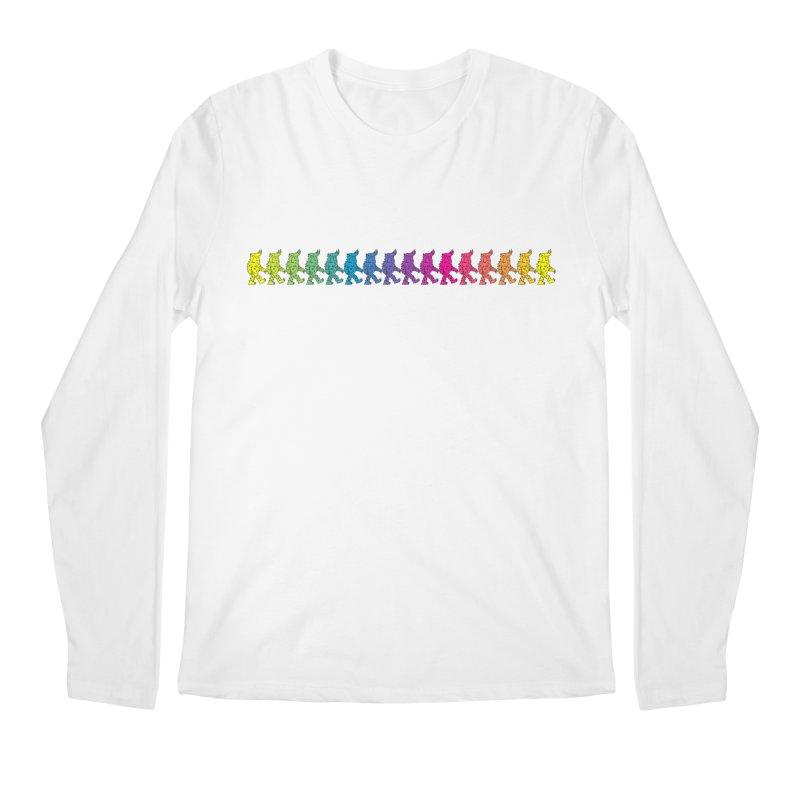 Rainbowalker Men's Longsleeve T-Shirt by timrobot's Artist Shop