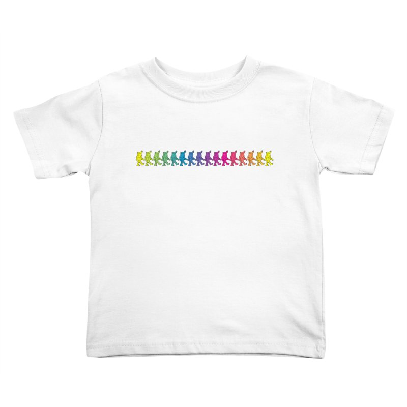 Rainbowalker Kids Toddler T-Shirt by timrobot's Artist Shop