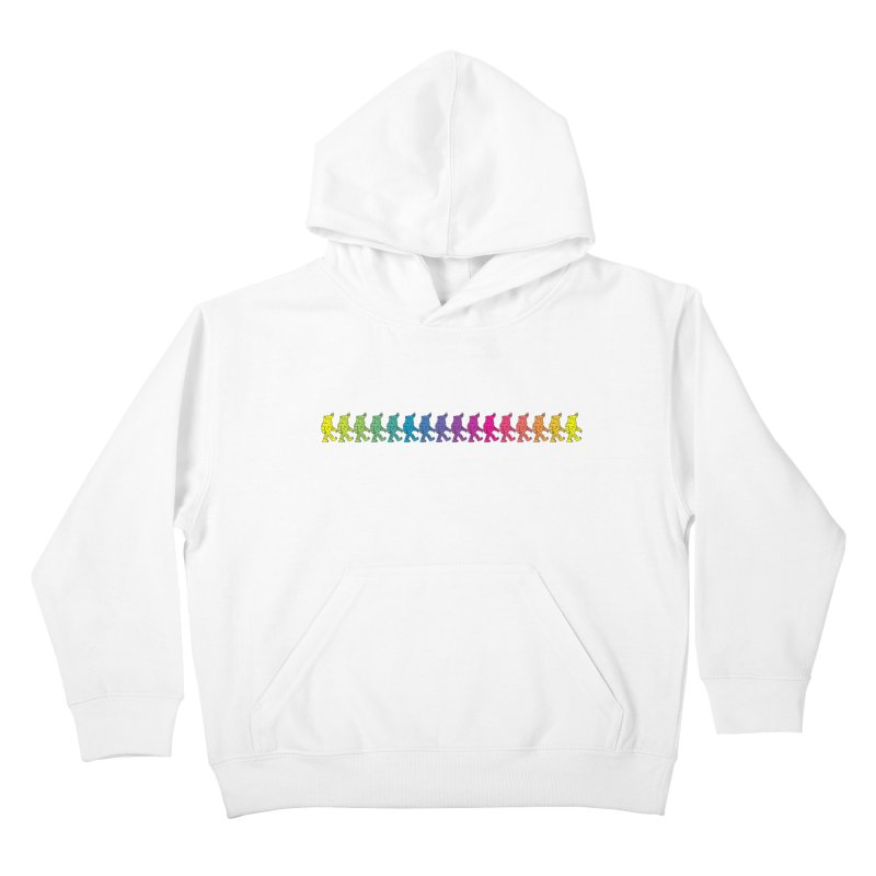 Rainbowalker Kids Pullover Hoody by timrobot's Artist Shop