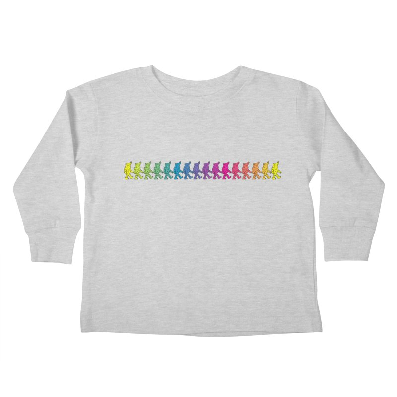 Rainbowalker Kids Toddler Longsleeve T-Shirt by timrobot's Artist Shop