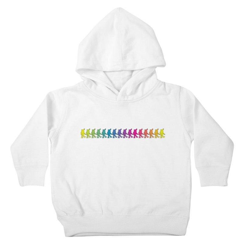 Rainbowalker Kids Toddler Pullover Hoody by timrobot's Artist Shop